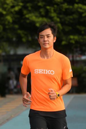 姚元浩認為跑步是一場與內心的深度對話。(圖/公關提供)