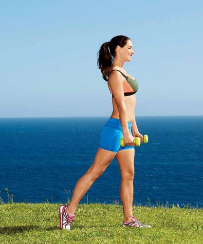 Hot & Healthy Workout: Get a Vacay Body. Perry Hagopian, Celebrity Photographer, Fashion Photographer, - PEOPLE, CELEBRITY, STUDIO,HEALTH, FITNESS, HOW-TO, WORKOUT STEP, Karena Dawn, Tee Off step 1